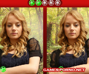 Adult game about finding differences among naked girls